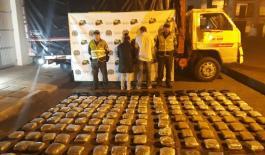 Incautación 100 kilos marihuana en jurisdicción de Anserma