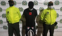 """Contundente operativo realizado por la Policía Nacional permitió la captura de alias """"Yuca"""""""