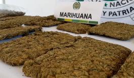 Incautamos tres mil gramos de marihuana en Casanare.