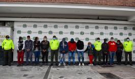 Intervención contra el delito a Bogotá para el fortalecimiento de la convivencia y seguridad ciudadana.