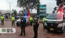 En contra del trabajo infantil, Policía de Cundinamarca hace lanzamiento de grupo