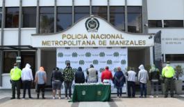 """El grupo de delincuencia común organizado """"los del comercio"""" fue desarticulado"""