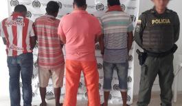 Unidades de la Policía Nacional capturaron un total de 12 personas