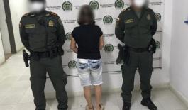 Esta femenina fue capturada por el delito de concierto para delinquir