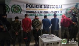 Siete capturados en el marco de la Operación Hades en Buriticá