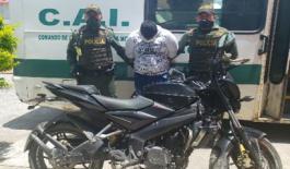 Policía capturó un hombre por hurto agravado en Villavicencio
