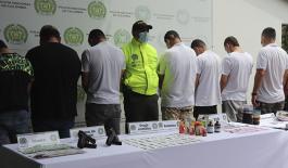 """Policía desarticuló grupo delincuencial """"los sintéticos"""" en Villavicencio"""