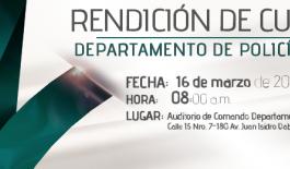 Rendicion de cuentas Departamento de Policia Arauca