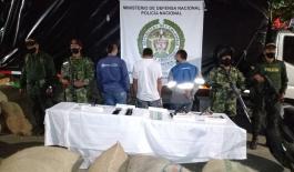 En el municipio de Betulia fueron capturados 03 sujetos