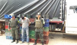 Persona captura por el delito de ilícito aprovechamiento de recursos naturales y renovables