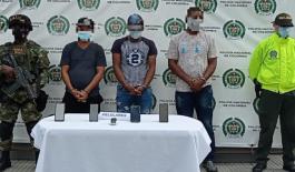 Estas personas fueron capturadas por concierto para delinquir y homicidio agravado