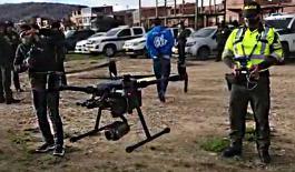 Infractores serán vigilados a través de drones