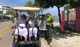 Policía Nacional invita a turistas y residentes a unirse a la campaña 'Yo hago parte de la seguridad y cuido mis pertenencias'
