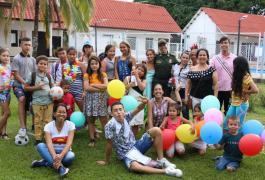 Integración a niños vulnerables del barrio Mutis - Mariquita Tolima