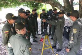 Instrucción curso N° 021 artilleros