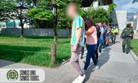 Sorprendidos 10 extranjeros y 4 colombianos en una fiesta en el barrio Laureles de Medellín