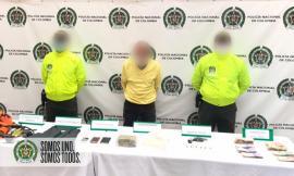 Capturado un hombre conocido como 'Camila', integrante del grupo criminal 'robledo'