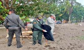 Adelantamos jornada de ornato y embellecimiento en playas de Juradó Chocó