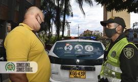 campaña de sensibilización en patrullas de la policía