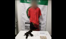 En oportuna reacción de los cuadrantes y grupo GOES incautado material de guerra en Altavista