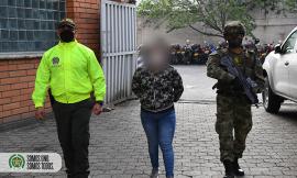 En operación conjunta capturada en Bello 'Deisy' integrante de células urbanas del ELN