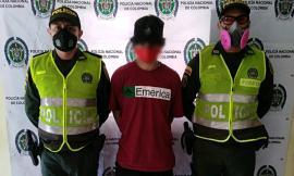 Estas personas fueron detenidas en la avenida Guabinal y avenida Ambala