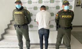Capturamos un ciudadano extranjero por hurto en el sector de la florida en Villamaría