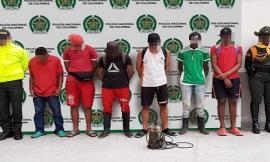 cinco capturados por ejercer minería ilegal