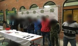 Certera afectación al grupo delincuencial 'san pablo' 10 de sus integrantes capturados