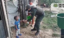 Actividad comunitaria en Arauca