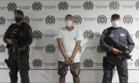Capturado alias fanor por el delito de homicidio en concurso con porte ilegal de armas de fuego, accesorios, partes o municiones.