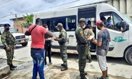 """Con el """"comando situacional"""" recorremos los municipios del Chocó"""