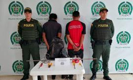 Policía captura a dos ciudadanos por delito de hurto