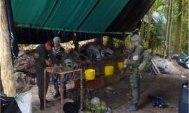 Policía-Nacional-ubica-y-destruye-laboratorio-para-el-procesamiento-de-clorhidrato-de-cocaína-en-el-Departamento-de-Boyacá