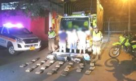 Tres hombres fueron los capturados con los estupefacientes en la vía Ibagué – Espinal.