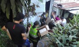 Ante la emergencia sanitaria entregamos almuerzos y mercados en barrios de Ibagué