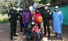 El Departamento de Policía Guainía a través de su grupo de Infancia y Adolescencia viene adelantando campañas dirigidas a la protección y cuidado de nuestros niños, niñas y adolescentes con condiciones especiales