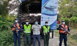 efectuamos la inmovilización e incautación de 218 unidades de madera