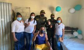Elver Salinas sonríe a la vida gracias a la solidaridad colombiana