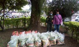 En trabajo articulado recolectamos 300 mercados para las familias ibaguereñas más necesitadas.