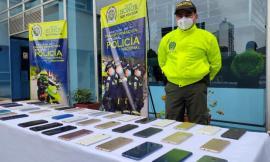 Incautación de al menos 127 celulares y la captura de 31 personas por delitos relacionados con hurto, receptación y porte ilegal de armas de fuego