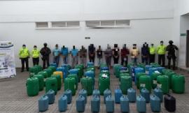 Organización criminal dedicada al tráfico y desvío de sustancias químicas