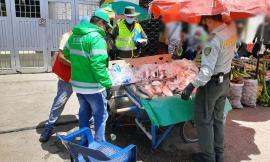 Desarrollamos acciones de prevención y control en las plazas de mercado de la ciudad