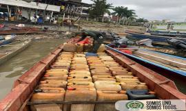 Sin-documentación-que-certificara-su-legalidad,-fueron-incautados-315-galones-de-combustible-en-Quibdó.