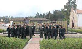 Visita de referenciación por parte de una delegación policial del Perú