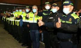 Presidente de la República encabezó visita a instalaciones policiales de Bogotá reconociendo el trabajo abnegado de los uniformados