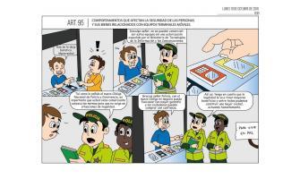 Comportamientos que afectan la seguridad de las personas