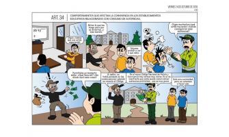 Comportamientos que afectan la convivencia en los establecimientos educativos