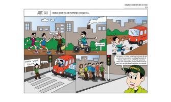 Derecho de vía de peatones y ciclistas