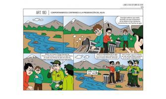 Comportamientos contrarios a la preservación del agua